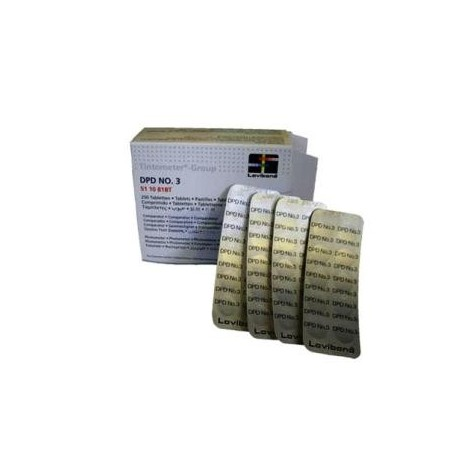Tabletas reactivo DPD Nº3 (250 un.)