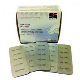 Tabletas reactivo ácido cianúrico (250 un.)
