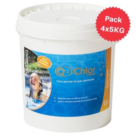 Clor granulat lent Q-Chlor