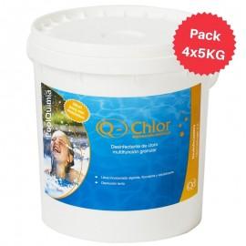 Cloro multiacción granular Q-Chlor