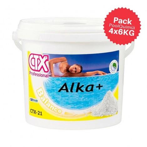 Incrementador de alcalinidad CTX-21