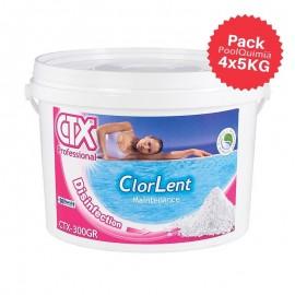 Cloro granulado lento CTX-300/gr ClorLent