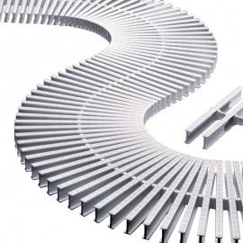 Rejilla transversal para curvas (unidad)