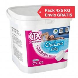 Pastillas de cloro para piscinas CTX-370