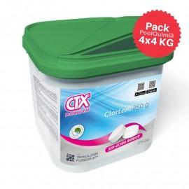 Pastillas de cloro lento sin bórico CTX
