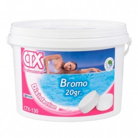 Pastillas de bromo para piscinas CTX-130