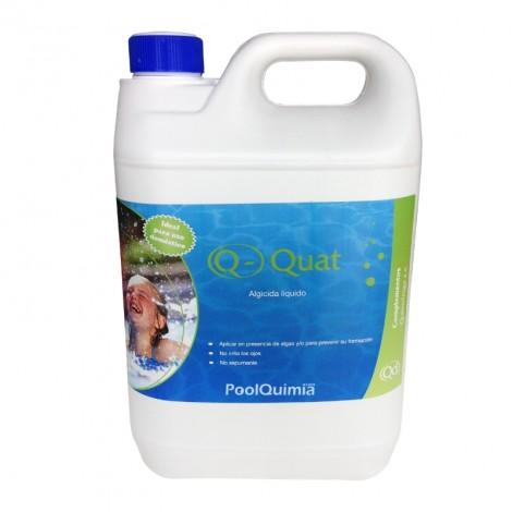 Algicida e invernador Q-QUAT para piscinas