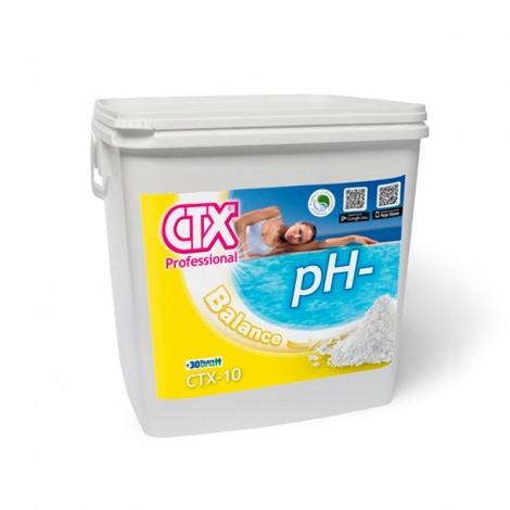 Minorador de pH sólido para piscinas
