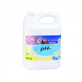 Minorador pH líquid CTX-15 pH- garrafa 10 litres