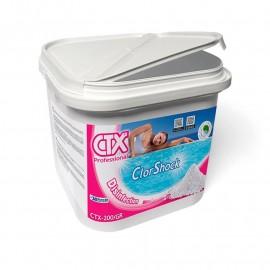 2 x 10 kg Clor rápid granulat CTX-200/gr ClorShock 55 % (20 kg)