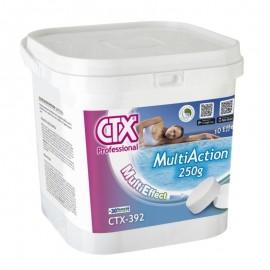 4 x 5 kg Clor multiacció pastilles 250 gr CTX-393