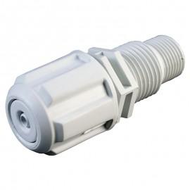 Racord de inyeccion 4/6 mm PVC/FPM