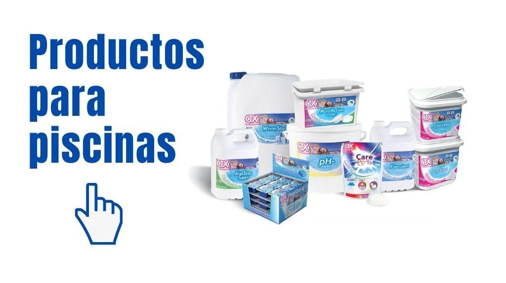 Productos para piscinas